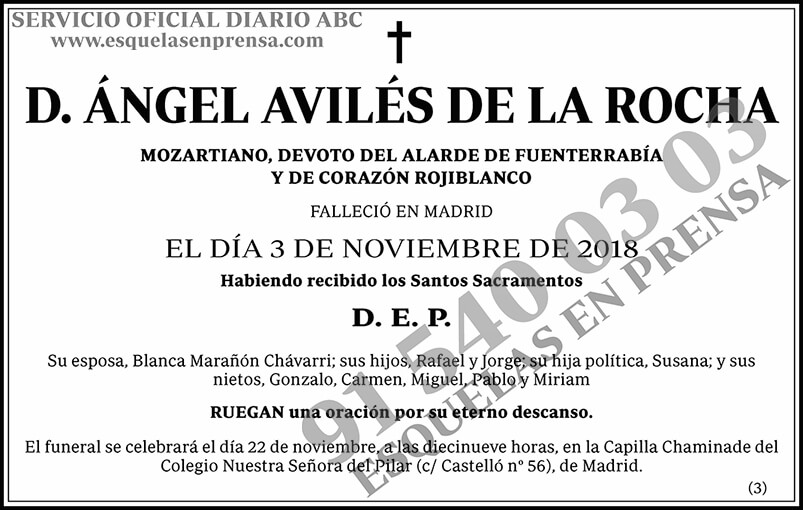 Ángel Avilés de la Rocha